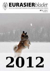 Eurasierbladet 2012