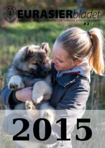 Eurasierbladet 2015